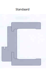 Standaard architraaf Colo kozijn