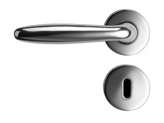 Flair Silver met sleutelrozet