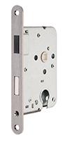 Magneet Dag- en nachtslot (cilinder) model 69  (incl. sluitplaat)