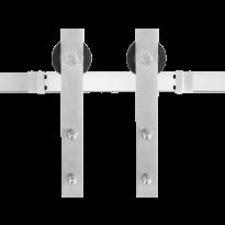 Schuifdeursysteem Lanka RVS 200 cm