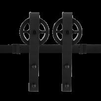 Schuifdeursysteem Teho Zwart