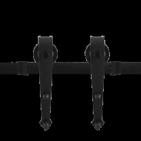 Schuifdeursysteem Nuoli Zwart