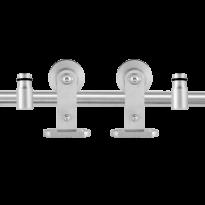 Schuifdeursysteem Kiva RVS 200 cm