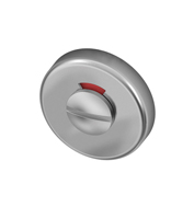 Toiletgarnituur RVS met vrij-bezet indicator