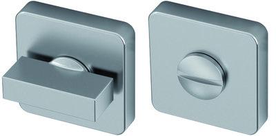 Toiletgarnituur RVS vierkant