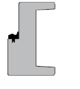 Alfa kozijn zonder bovenlicht (deurhoog)