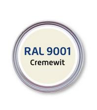 Deur aflakken RAL 9001 Cremewit