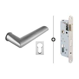 HSP 821 Cilinder slot Slim Mat Chroom